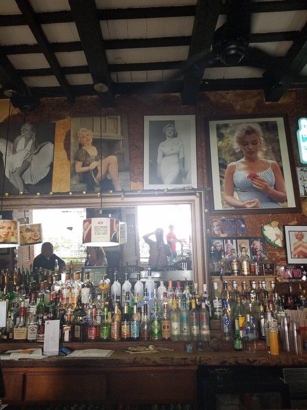 Marilyn Monroe themed bar