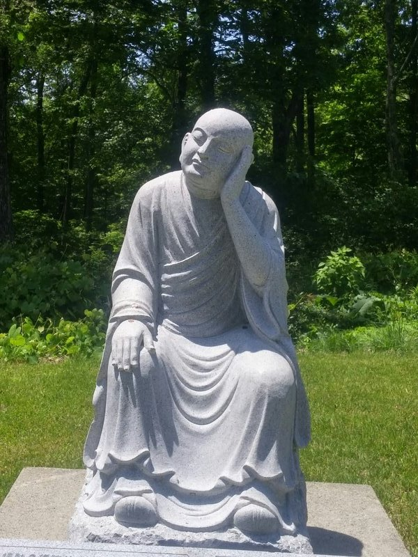 Buddha Statue Outside