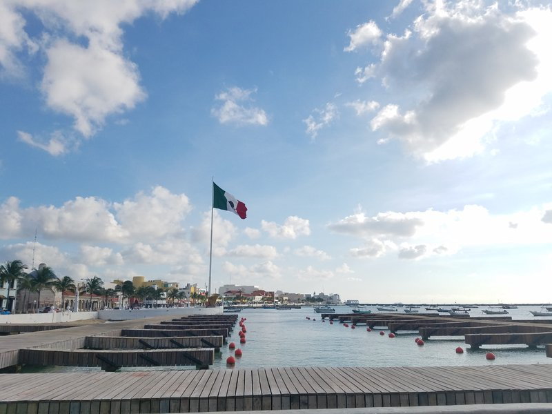 Cozumel Dock