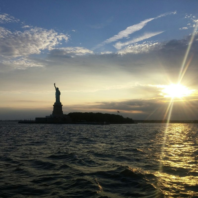 Lady Liberty Twililght