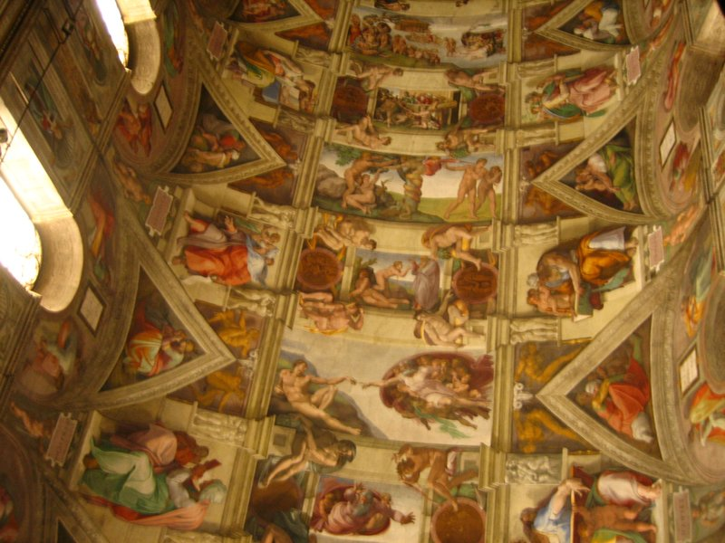 Rooftop in the Sistine Chapel