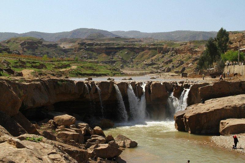 Afrineh Waterfall