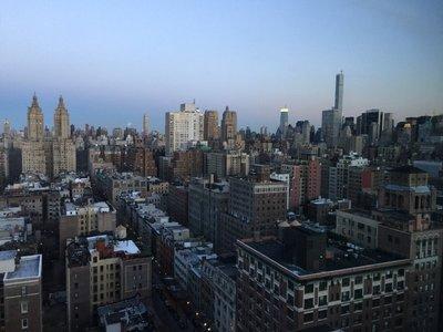 View from 25th Floor of Beacon Hotel NY