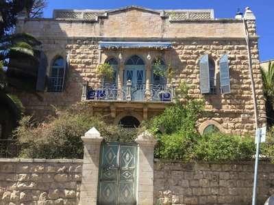 Ottoman period stone house in German Colony