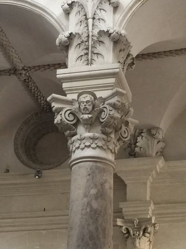 Cathedral Lecce-column capital