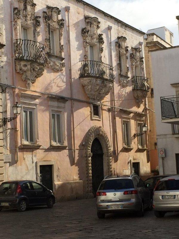 Baroque building facade, Galatina