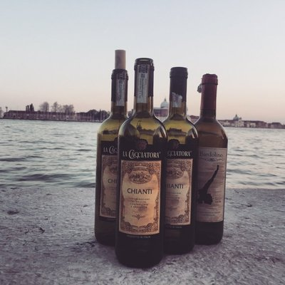Wine by the water