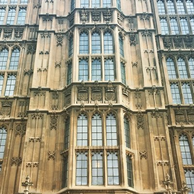 Palace of Westminster Close Up