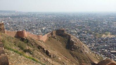 Vue depuis Nahargarh Fort Jaipur