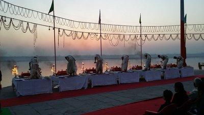Varanasi, cérémonie