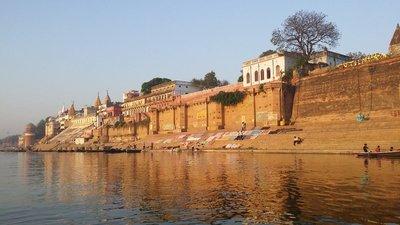 Varanasi - Ghât au Gange
