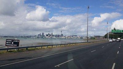 Sur la route - Auckland