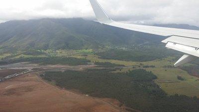 Nouméa vue d'avion