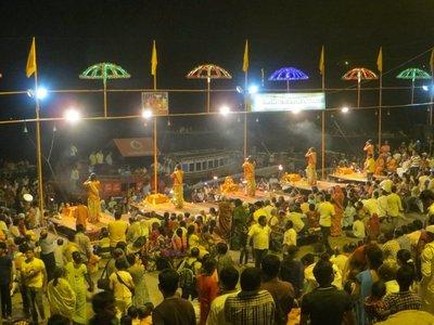 Varanasi - Cérémonie