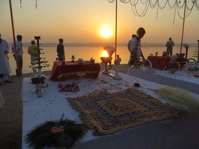 Varanasi - Cérmonie