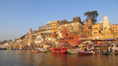 Varanasi - Ghât aux Gange