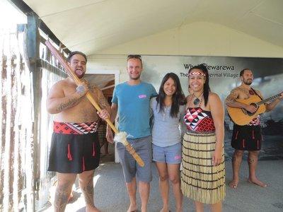 Whakarewarewa village