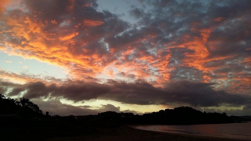 Nuit au bord de la plage - Matapouri