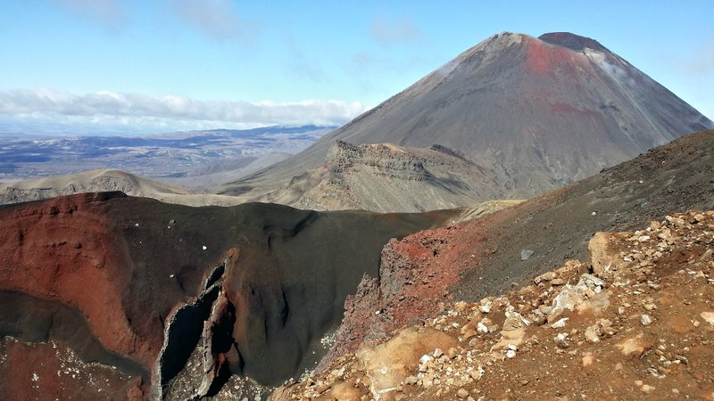 Tongariro Alpine Crossing - Volcan