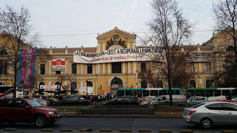 Santiago, universidad de chile