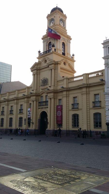 Santiago, plaza de arma