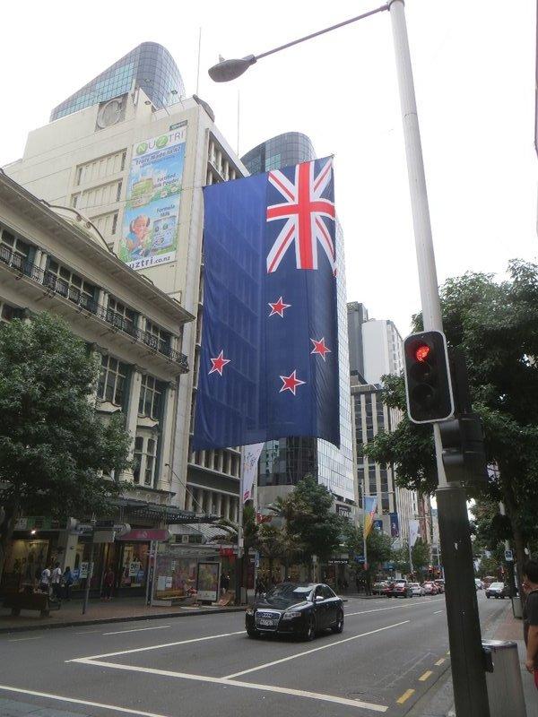 Auckland, dans la ville