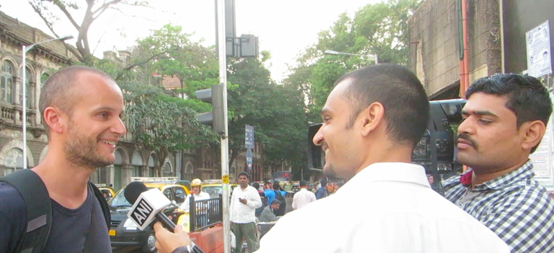 Interwiew TV locale Vincent, Mumbai, Maharashtra , India