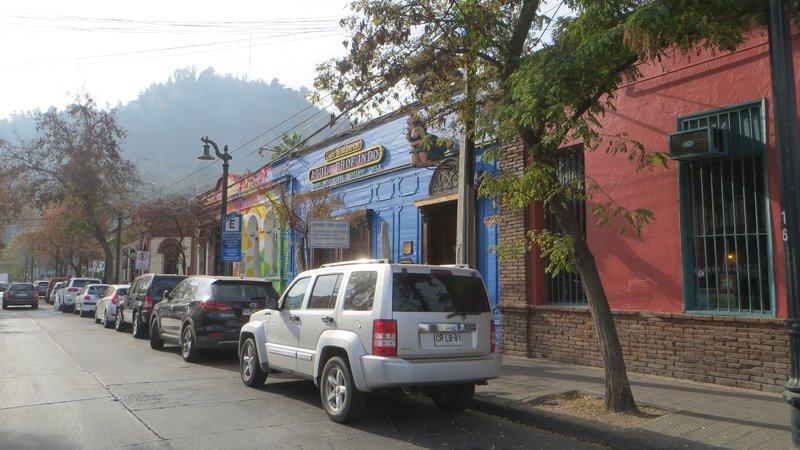 Santiago, dans Bellavista