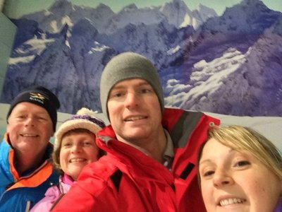 UK Skiing - Alan's Birthday