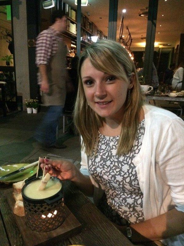 Birthday fondue