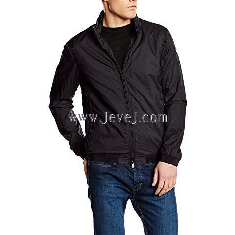 jevejcom Armani Jeans Linen Blouson Jacket Black L