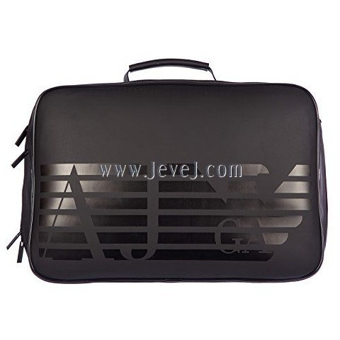 wwwjevejcom Armani Jeans Travel Duffle Weekend Shoulder Bag Black