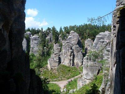 Prachov rocks