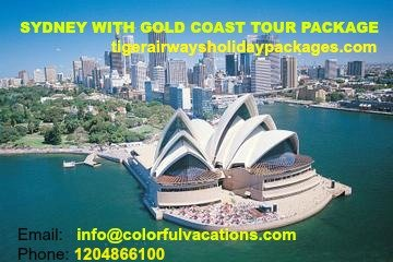 Sydney Tour Package- Colorful Vacations