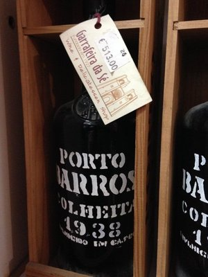 Images of Lisbon - this was the most expensive Port I could find in the shop