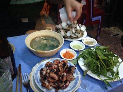 BBQ dinner Nha Trang