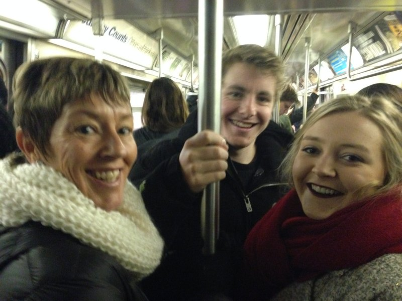 Riding the subway. The subway made travel from our accommodation in Brooklyn to anywhere in New York a breeze! We bought 7 day passes for $30. We got our moneys worth!