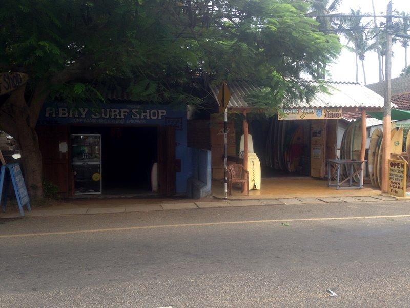 Joes surf shop