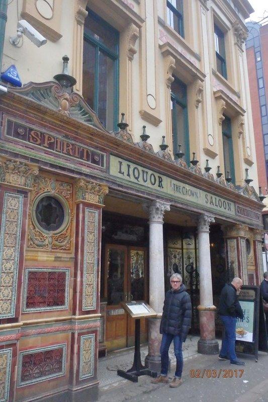 The 'Crown Liquor Saloon'