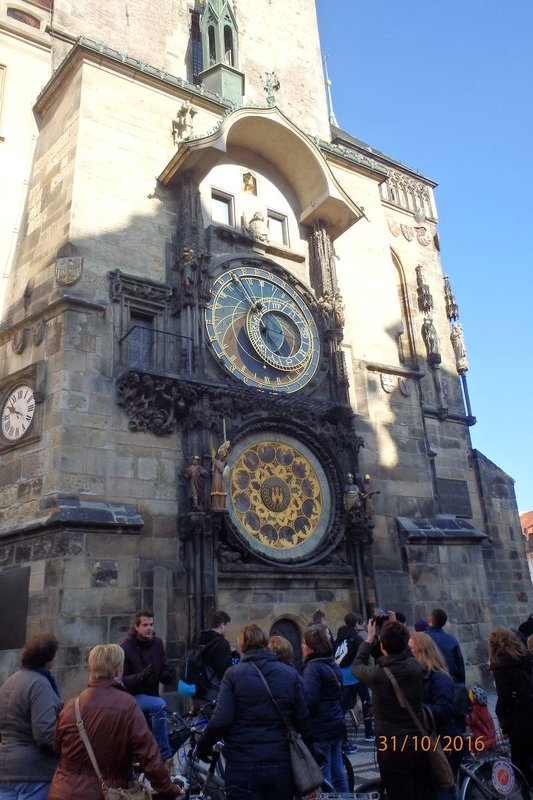 Buildings in Prague - The Prague astronomical clock