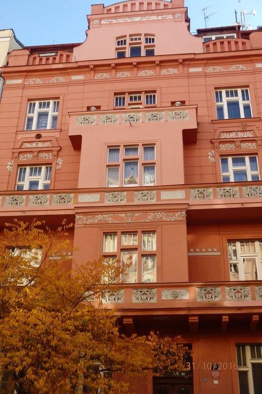 Buildings in Prague