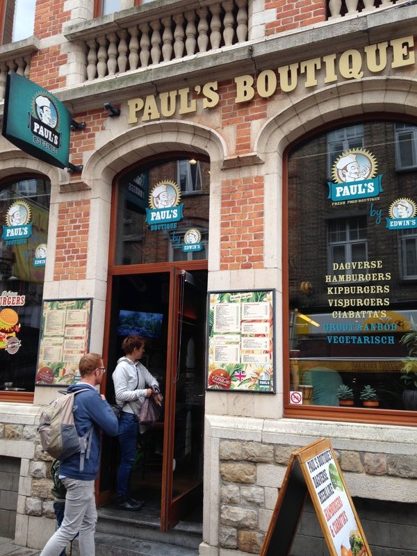 A very good buger joint in Ypres