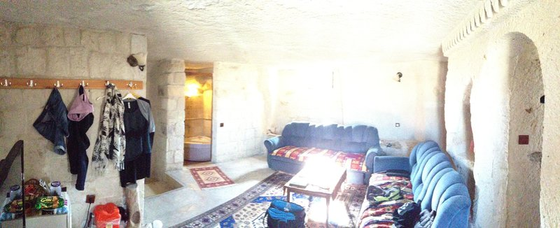 Our cave house