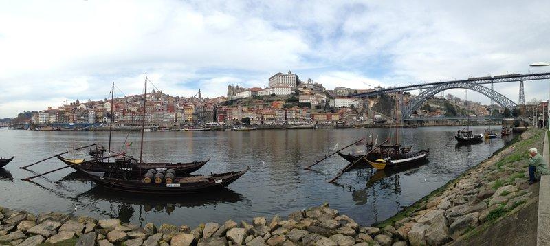 The Port district of Porto - Vila Nova de Gaia
