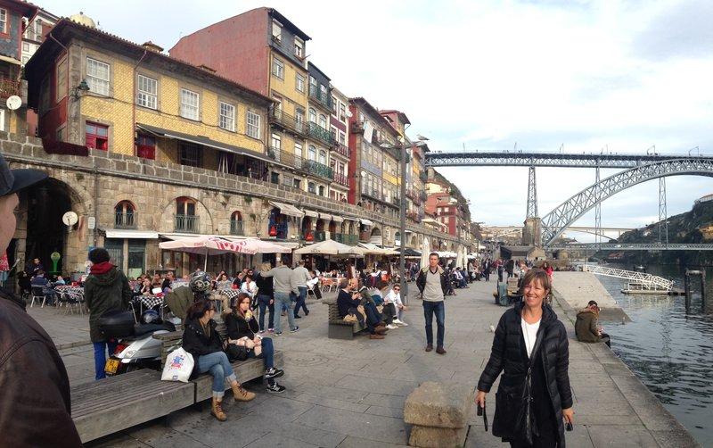 The streets of Porto