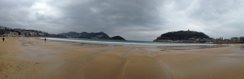 Images from our walk around San Sebastián