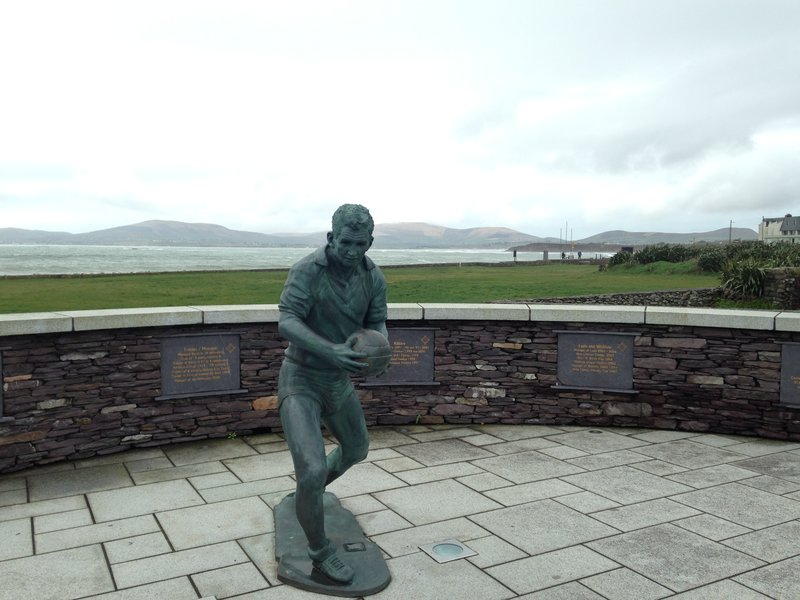 A tribute to a local hero in Waterville - Mick O'Dwyer