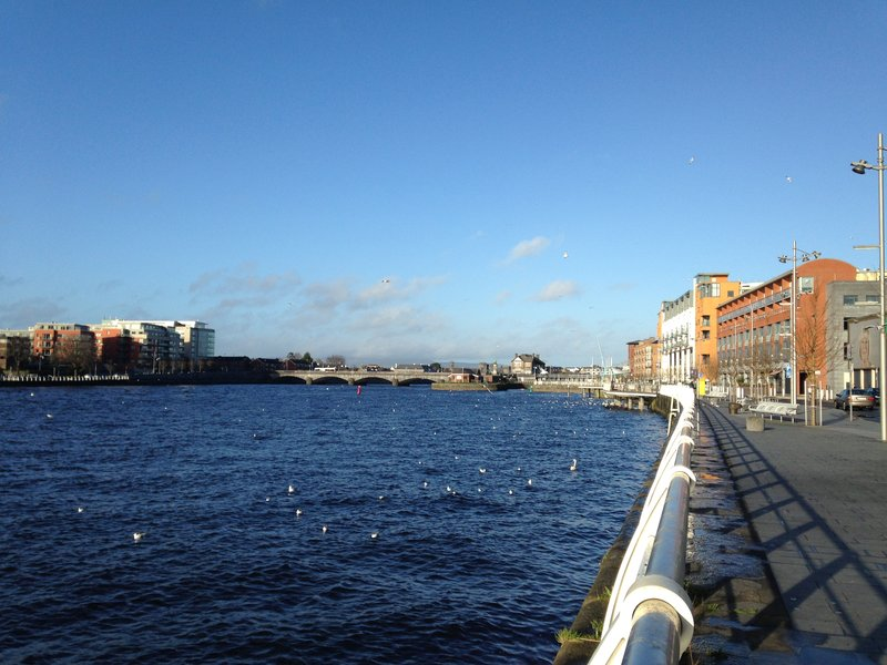 Images from our walk around Limerick