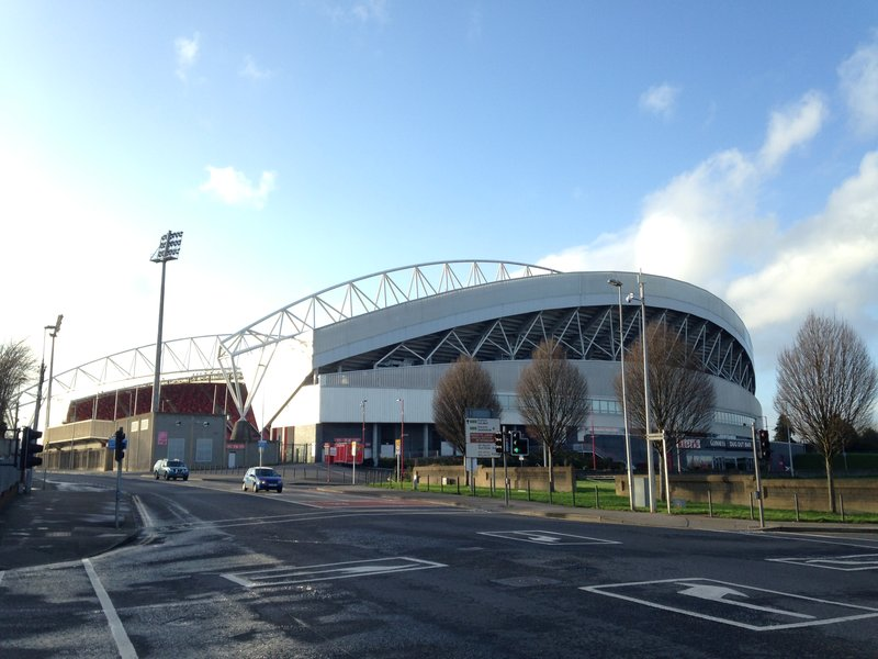 Images from our walk around Limerick - Thomond Park