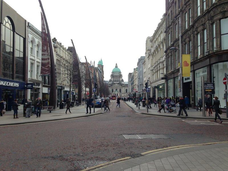 Centre of Belfast